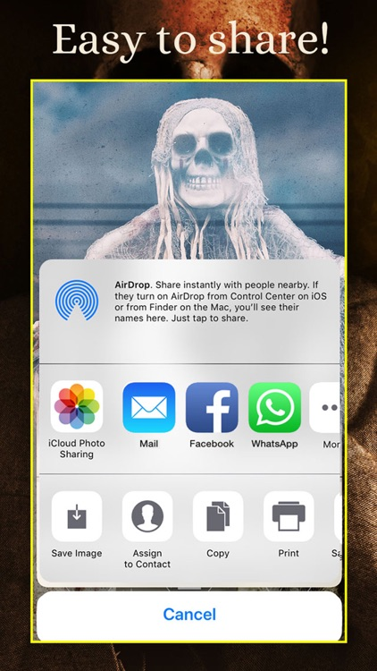 SKULLS Gothic Wallpaper Maker screenshot-4