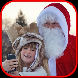 Selfie With Santa - Xmas