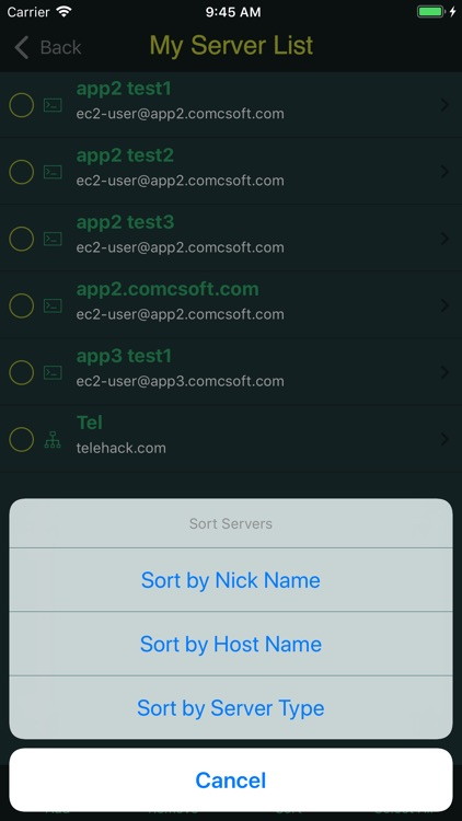 iTerminal Pro For iPhone