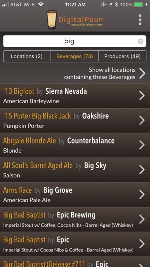 Digitalpour  Pocket Beer Menu On The App Store