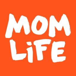 Pregnancy tracker app • Moms chat mom.life