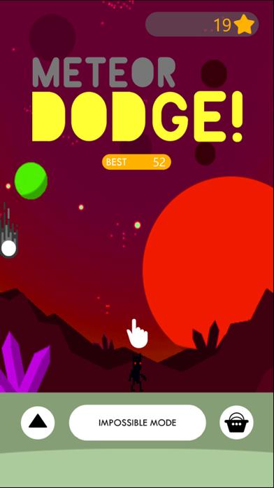 MeteorDodge! screenshot 1