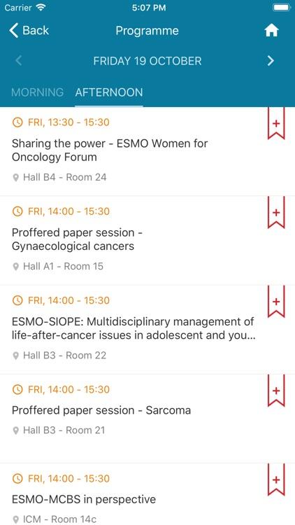 ESMO Events App screenshot-4