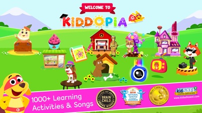 Screenshot for Kiddopia - ABC Toddler Games in United States App Store