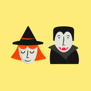 Halloween Friends Stickers - Stickers app