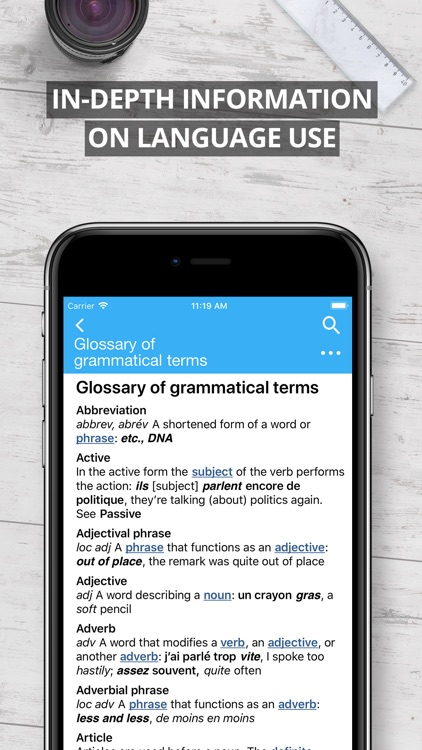 Oxford French Dictionary 2017 screenshot-4