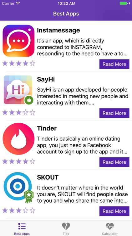 Dating apps for singles