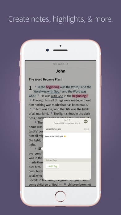 NIV Bible by Olive Tree screenshot four