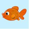 Glorious Goldfish Stickers