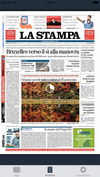 La Stampa review screenshots