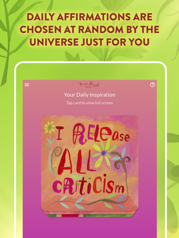 Power Thought Cards screenshot 7