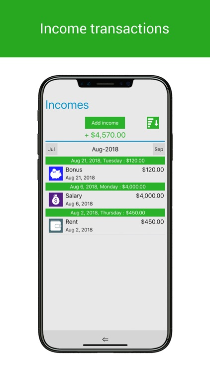 Home Budget Manager Lite screenshot-3