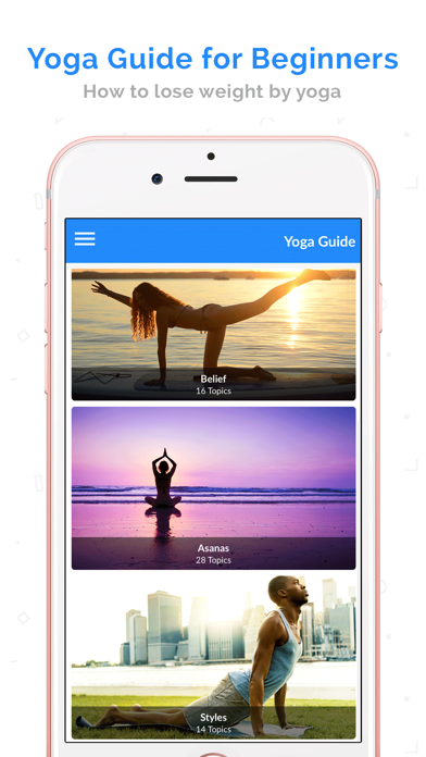 Yoga for Beginners by Video screenshot one