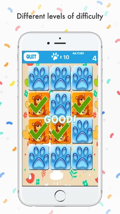 Animal Matching for Toddlers Screenshot