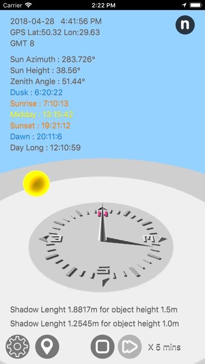 Sun Calculator screenshot-4