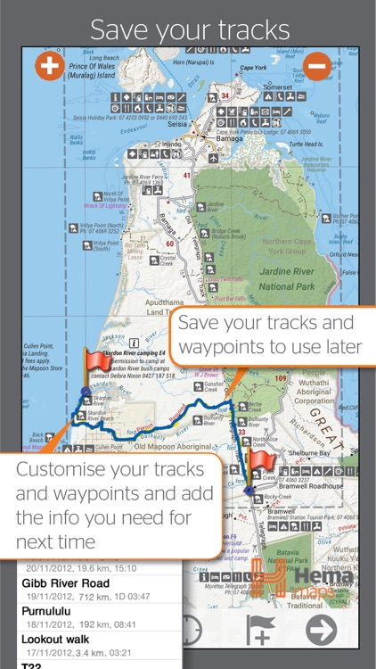 4WD Maps | Hema Australia Offline Topo Maps screenshot-2