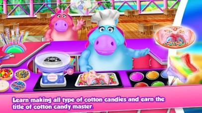 Fat Unicorn Cotton Candy Shop screenshot 2