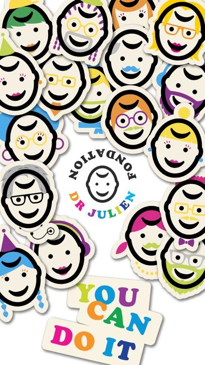 Dr Julien Stickers