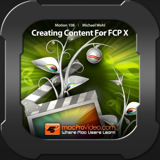 Content 108 For Final Cut ProX iOS App