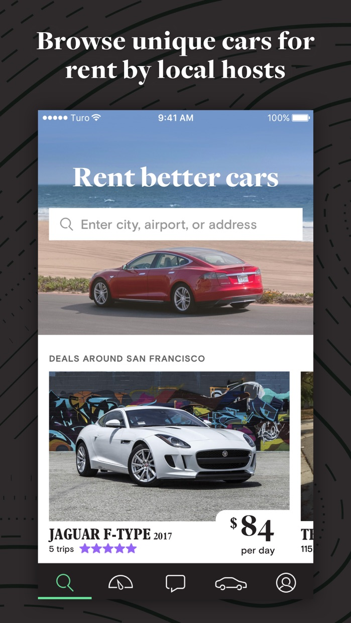 Turo - Rent Better Cars Screenshot