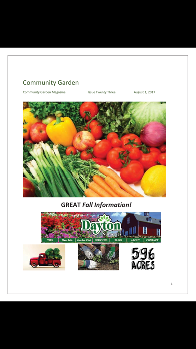 Community Garden Magazine screenshot 3