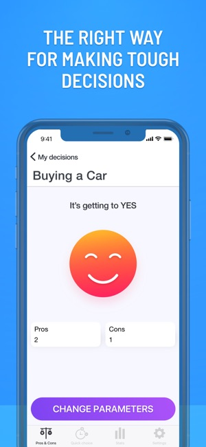 Make a Decision: Yes No Oracle on the App Store