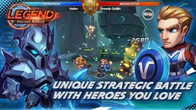 Legend-Heroes Arrival Screenshot on iOS