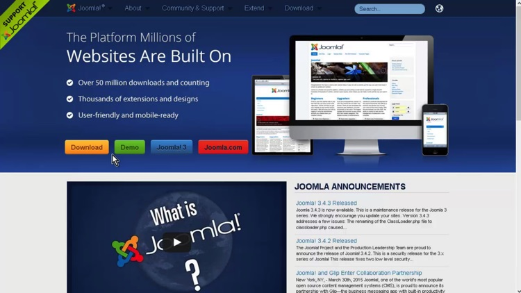 Container of Tutorials for CMS screenshot-3