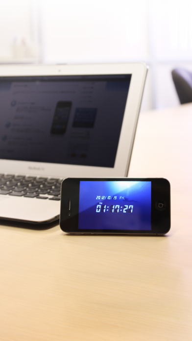 デジタル時計のおすすめ画像1