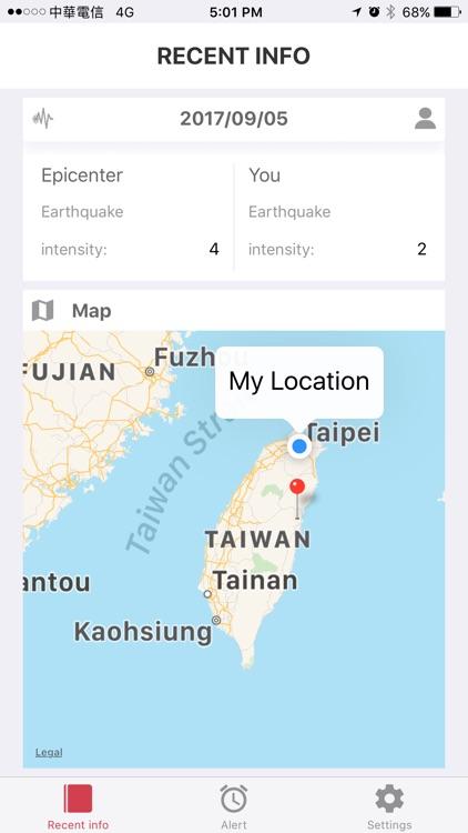 H.E.R.O. - Earthquake Alert screenshot-4