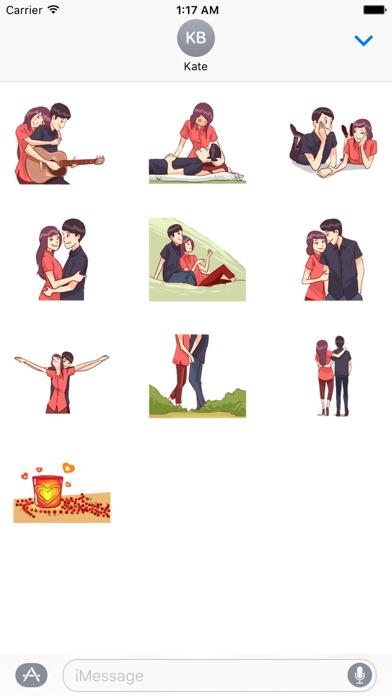 Screenshot for Be Mine Lovemoji Sticker in Viet Nam App Store