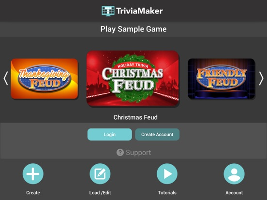 iPad Image of Trivia Maker - Quiz Creator