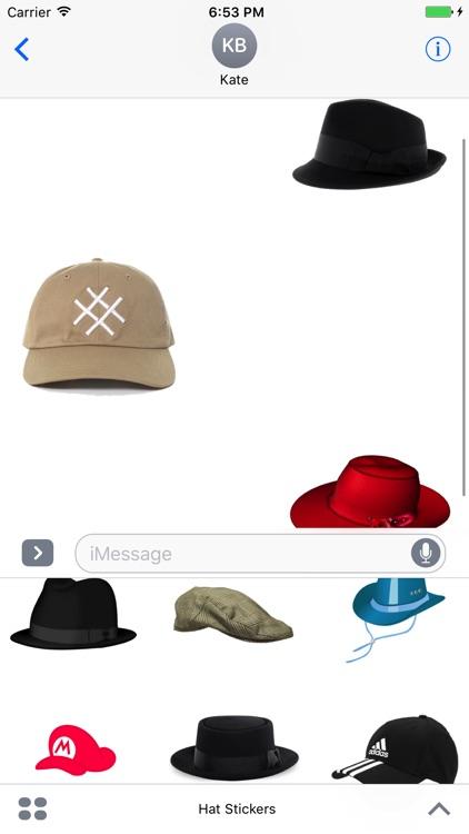 Hat Stickers+