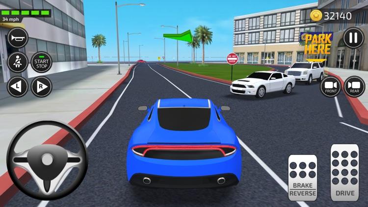Driving Academy 2017 Simulator screenshot-4
