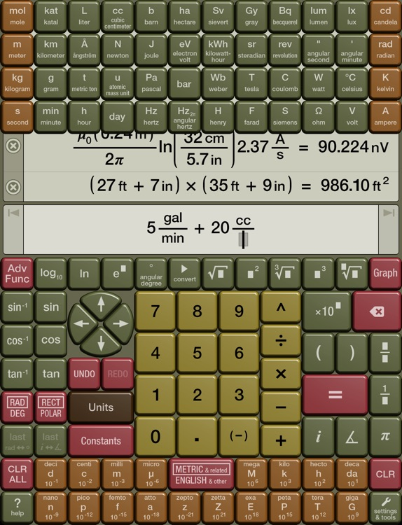 Numerari Scientific Calculator screenshot-2