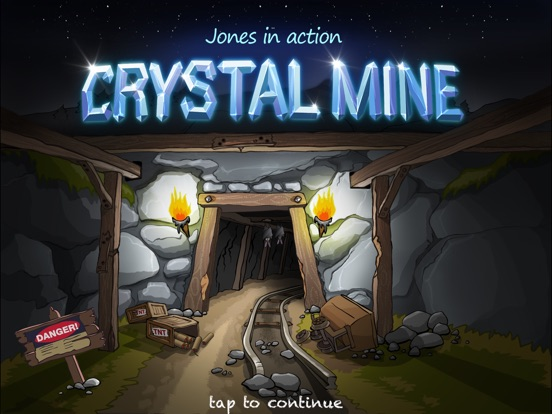 Crystal Mine - Jones in action Screenshots