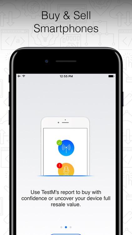 TestM - Check phone & Report screenshot-4