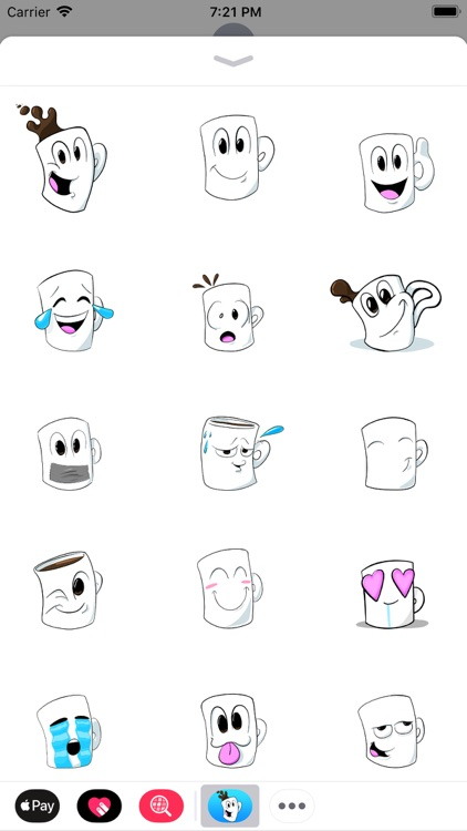Shut Up, Cup! - Stickers