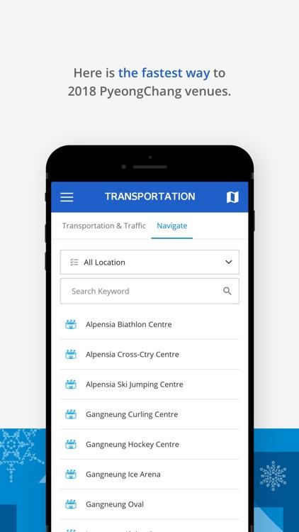 PyeongChang 2018 Official App screenshot-4