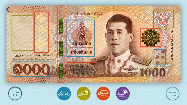 Thai Banknotes screenshot-1