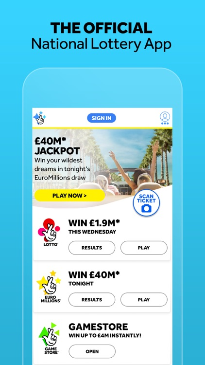 The National Lottery: Official screenshot-0