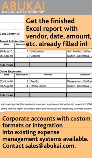 ABUKAI Rechnungen, KostenScreenshot von 4