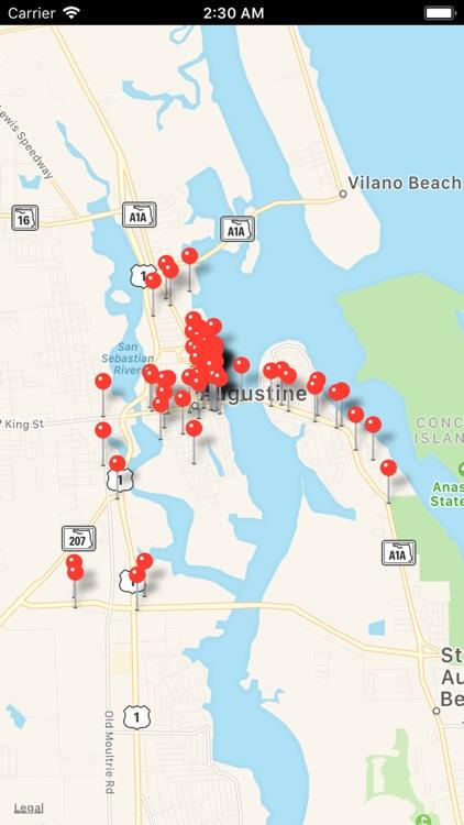 St Augustine Tourist Guide screenshot-4