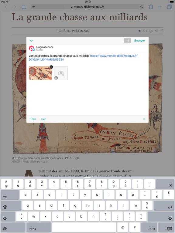 Screenshot #4 pour Linky pour Twitter et Mastodon