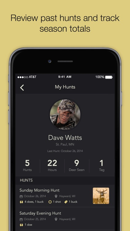 Quiver Hunt Tracking App screenshot-3