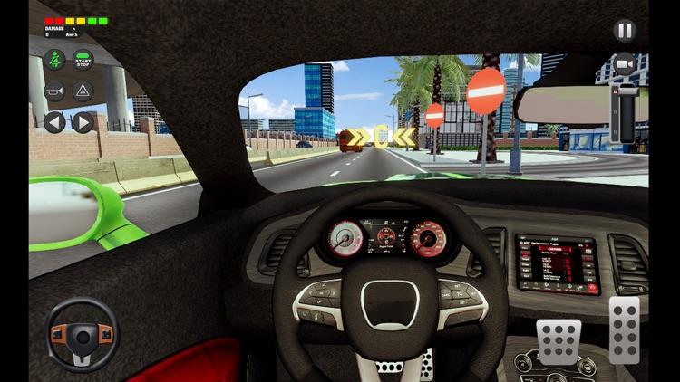 City Car Driving School Sim 3D screenshot-8