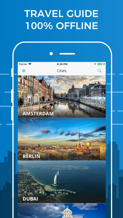 Travel Guides and City Maps