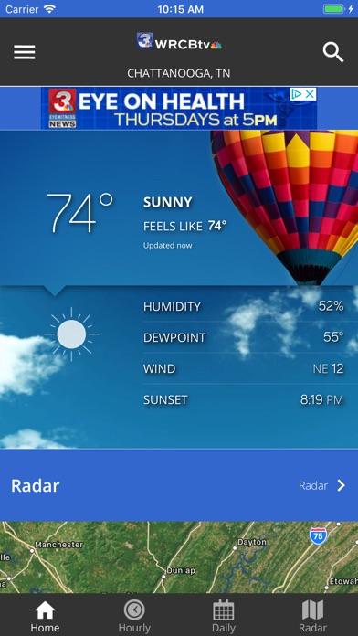 WRCB Radar iPhone