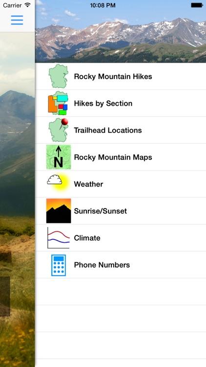 Hiking Rocky Mountain N. P.