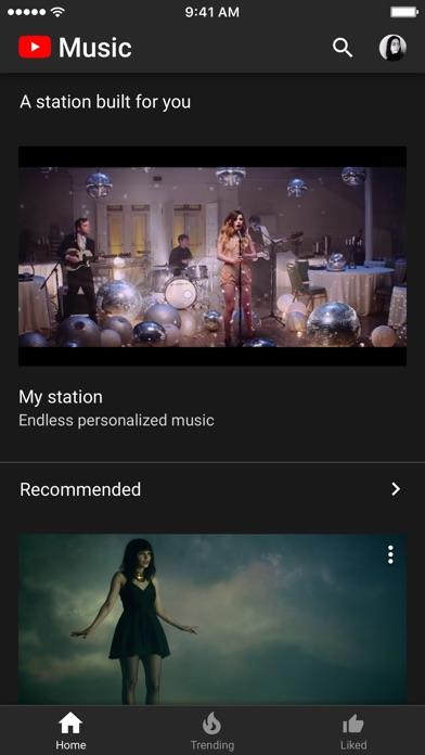 YouTube Music app image